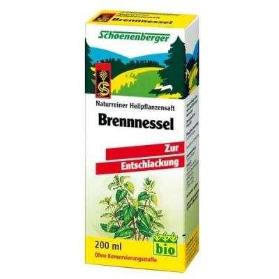 Schoenenberger Био сок от Коприва, Сок: 200 ml