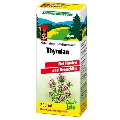 Schoenenberger Био сок от Мащерка, Сок: 200 ml