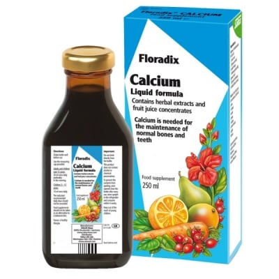 Floradix Калций, Сироп: 250 ml