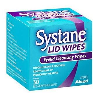 Systane / Систейн почистващи кърпички за очи, Брой: 30