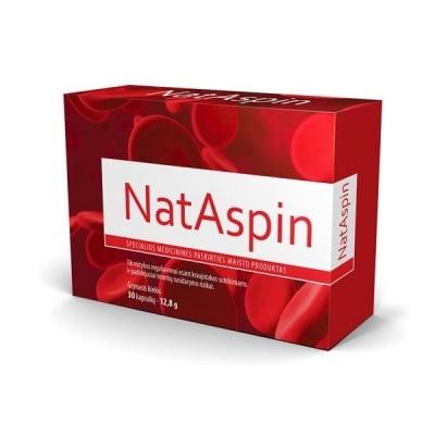 NatAspin / НатАспин, Брой капсули: 30