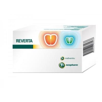 Reverta / Реверта табл., Брой таблетки: 28