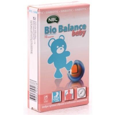 Bio Balance Baby / Био Баланс Бейби, Сашетa: 10