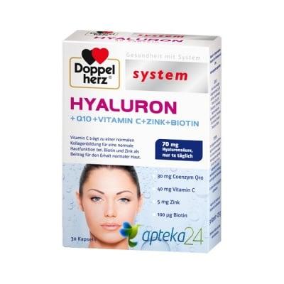 Doppelherz System Hyaluron 30 capsules / Допелхерц Систем Хиалурон 30 капсули