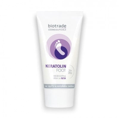 Keratolin Foot with 25% Urea cream 50 ml / Кератолин Kрем за напукани пети с 25% Уреа 50 мл.