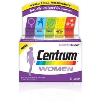 Centrum Women A-Z / Центрум за жени , Брой капсули: 30