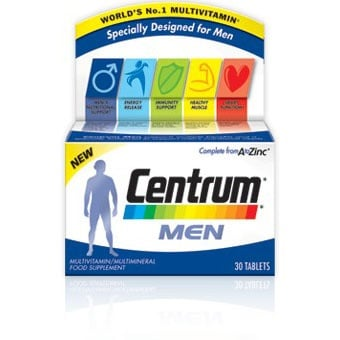 Centrum Men A-Z / Центрум за мъже, Брой капсули: 30