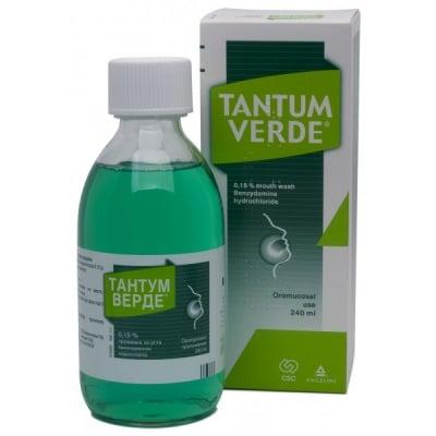 Tantum Verde / Тантум Верде Разтвор за уста, Течност: 240 ml