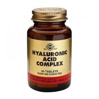 Solgar Хиалуронова киселина комплекс, Брой таблетки: 30