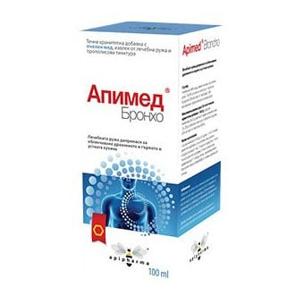 Apimed Bronho / Апимед Бронхо, Сироп: 100 ml