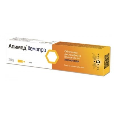 Apimed Hemopro / Апимед Хемопро, Унгвент: 20 g