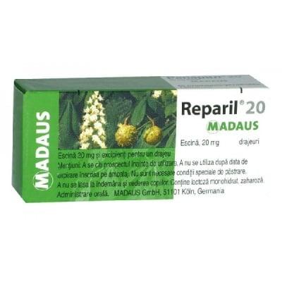 Reparil  / Репарил табл., Брой таблетки: 40