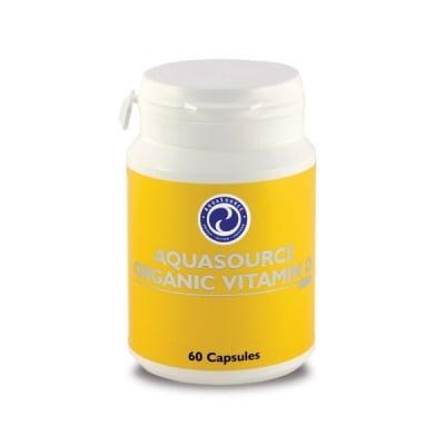 AquaSource Organic Vitamin D/ Органичен Витамин Д, Брой капсули: 60