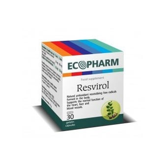 Resvirol / Ресвирол, Брой капсули: 30