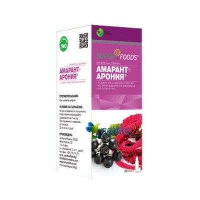 Amaranth + aronia syrup 200 ml. / Амарант + Арония сироп 200 мл.