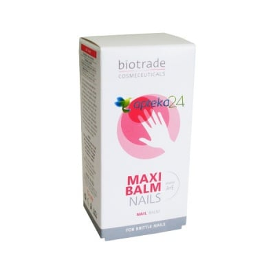 Maxi nail balsam 20 ml. Biotrade / Балсам за нокти Макси 20 мл. Биотрейд