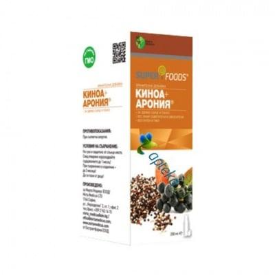 Quinoa + Aronia syrup 200 ml. / Киноа + Арония сироп 200 мл.