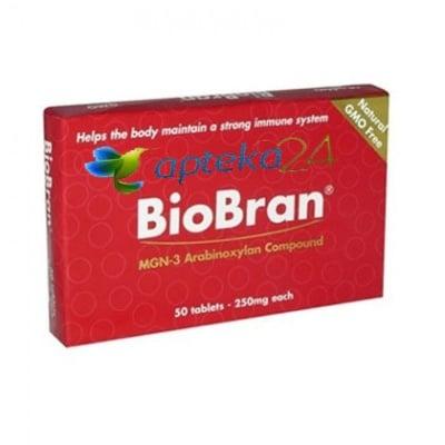 BioBran 250 mg 50 tablets / БиоБран 250 мг. 50 таблетки