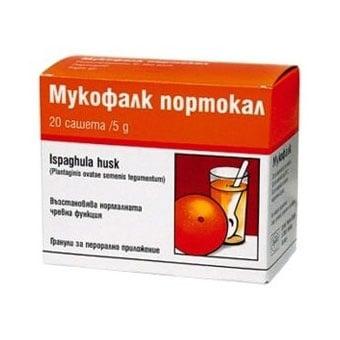 Mucofalk Orange (Mукофалк портокал), Сашетa: 20