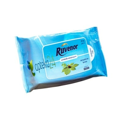 Ruvenor 20 wet wipes for hemorrhoids / Рувенор 20 мокри кърпи за хемороиди