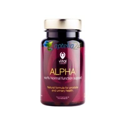Vital Concept ALPHA 60 capsules / Витал Концепт АЛФА 60 капсули