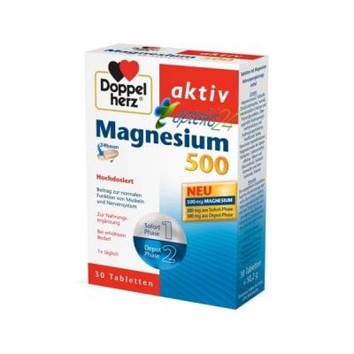 Doppelherz Activ Magnesium 30 tablets / Допелхерц Актив Магнезий 30 таблетки