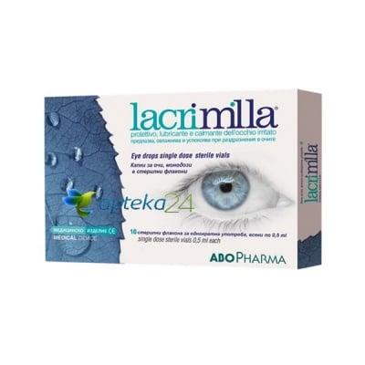 Abopharama Lacrimilla drops 0.5 ml 10 flacons / Абофарма Лакримила капки 0.5 мл. 10 флакона, Капки: 10 флакона по 0.5 мл.