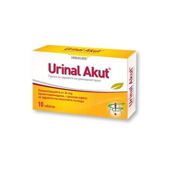 Urinal acut (Уринал акут), Брой таблетки: 10