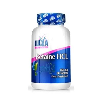 Haya Labs Betaine HCL 650 mg 90 tablets / Хая Лабс Бетаин HCL 650 мг. 90 таблетки