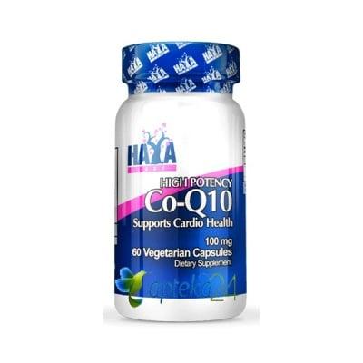Haya Labs Co - Q10 100 mg. 60 capsules / Хая Лабс Коензим Q10 100 мг. 60 капсули