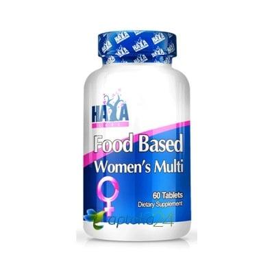 Haya Labs Food based Women`s Multi 60 tablets / Хая Лабс Мултивитамини за жени 60 таблетки