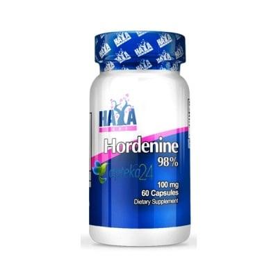 Haya Labs Hordenine 98% 100 mg. 60 capsules / Хая Лабс Хорденин 98% 100 мг. 60 капсули