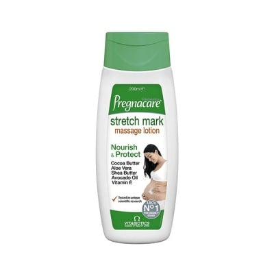 Pregnacare Stretch Mark Massage Lotion 200 ml Vitabiotics / Прегнакеър Лосион Против Стрии 200 мл. Витабиотикс