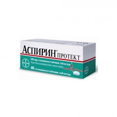 Aspirin protect (Аспирин протект), Брой таблетки: 40