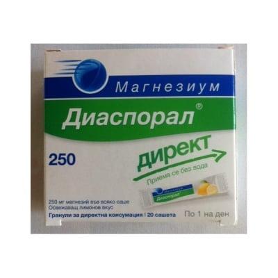 Magnesium diasporal direkt (Магнезиум диаспорал директ), Сашетa: 20