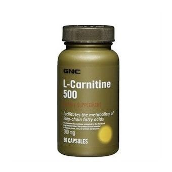 L-Carnitine (Л-Карнитин), Брой капсули: 30