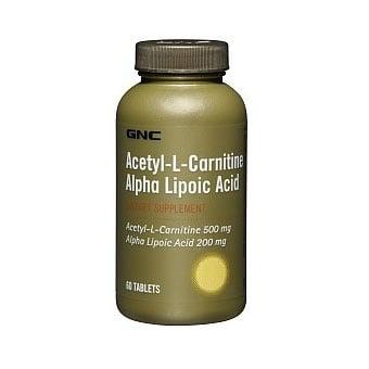 Acetyl-L-Carnitine+Alpha-Lipoic Acid (Ацетил Л-Карнитин+Алфа Липоева киселина), Каплети: 60