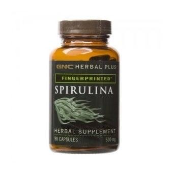 GNC Spirulina / Спирулина, Брой капсули: 90