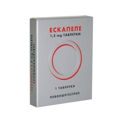 Escapelle ( Ескапел), Брой таблетки: 1