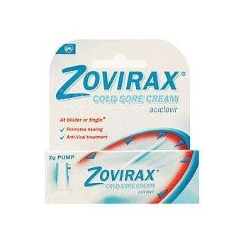 Zovirax cream (Зовиракс крем), Крем: 2 g