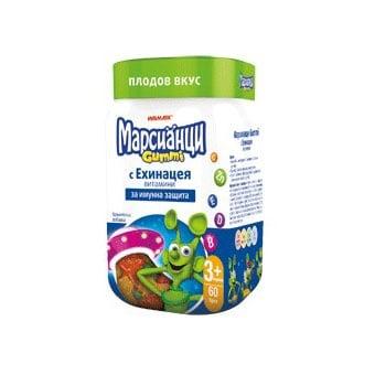 Марсианци Gummi с Ехинацея , Брой таблетки: 60