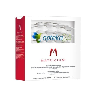 Bioderma Matricium Sterile medical device for face 30 doses x 1 ml. / Биодерма Матрициум Стерилен медицински продукт за регенериране на кожата на лицето 30 дози x 1 мл.