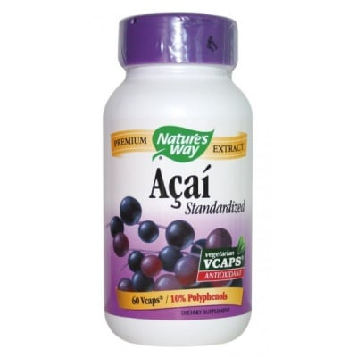 Acai 520 mg 60 capsules Nature's Way / Акай 520 мг. 60 капсули Nature's Way