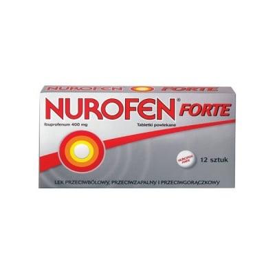 Nurofen forte / Нурофен форте табл. 400 mg, Брой таблетки: 12