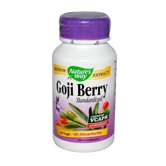 Goji Berry 500 mg 60 capsules Nature's Way / Годжи Бери 500 мг. 60 капсули Nature's Way