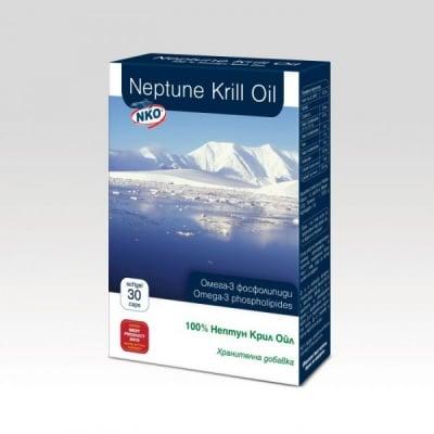 Neptune Krill Oil / Нептун Масло от крил, Брой капсули: 30