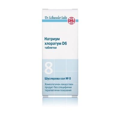 Шуслерова сол № 8 Натриум хлоратум, Брой таблетки: 80