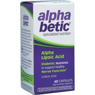 Alphabetic Alpha lipoic acid 60 capsules Nature's Way / Алфабетик Алфа липоева киселина 60 капсули Nature's Way