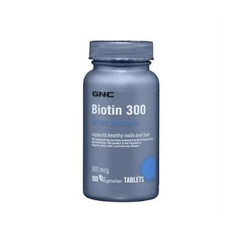 GNC Biotin / Биотин , Брой таблетки: 100