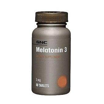 GNC Melatonin / Мелатонин 3 mg, Брой таблетки: 60